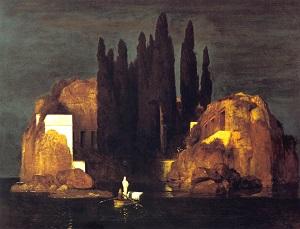 アルノルト・ベックリン「死の島」