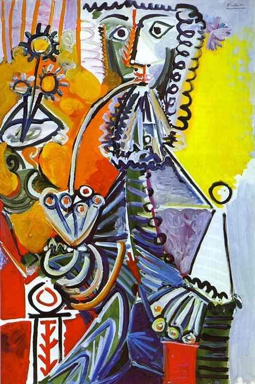ピカソ「パイプを銜えた騎士」 ローゼンガルト・コレクション
