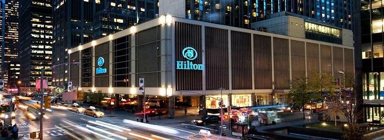 ニューヨーク:ヒルトン・ミッドタウン New York Hilton Midtown