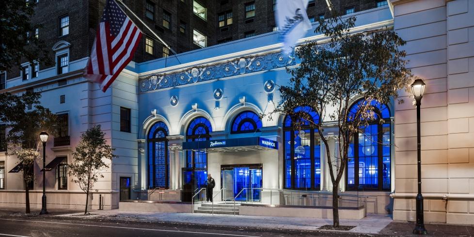 フィラデルフィア:ラディソン・ブルー・ワーウィック Radisson Blu Warwick