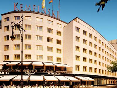 ベルリン: ケンピンスキー・ブリストル Kempinski Hotel Bristol Berlin