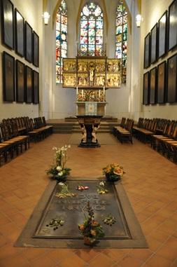 トーマス教会(バッハのお墓)