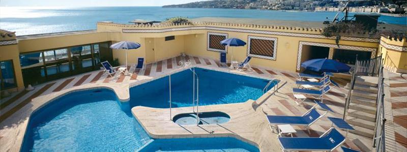ナポリ: ロイヤル・コンチネンタル Hotel Royal Continental