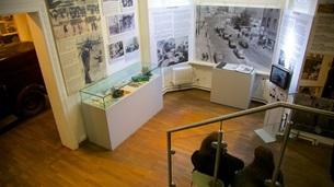 ベルリン:チェックポイント・チャーリー博物館(壁博物館)