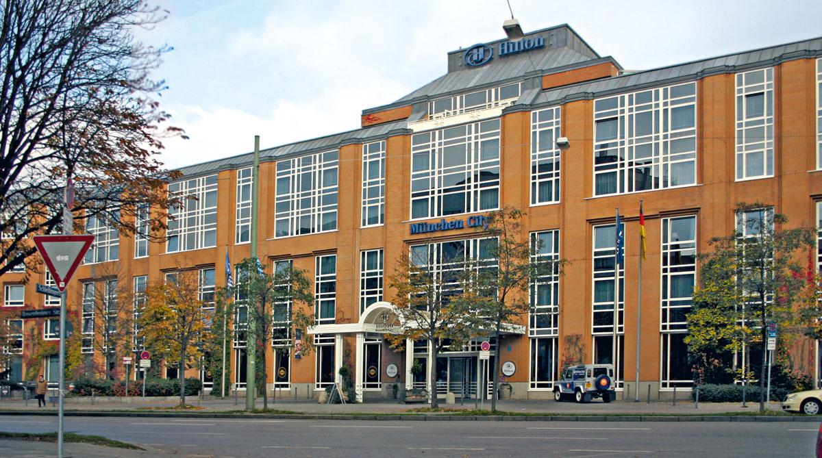 ミュンヘン: ヒルトン・シティ  Hilton Munich City