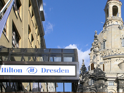 ドレスデン: ヒルトン Hilton Dresden