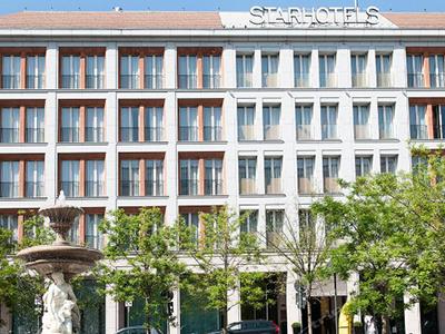 ミラノ: スターホテル・ローザ Starhotels Rosa Grand