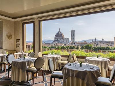フィレンツェ: グランド・バリオーニ Grand Hotel Baglioni