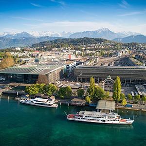 スイスの自然と美術とルツェルン音楽祭 ルツェルン9日間