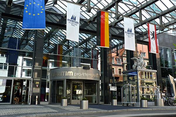 ベルリン: マリティム・プロアルテ Maritim proArte Hotel Berlin