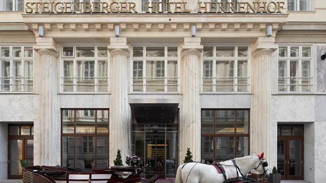 ウィーン: シュタイゲンベルガー・ヘレンホーフ Steigenberger Hotel Herrenhof